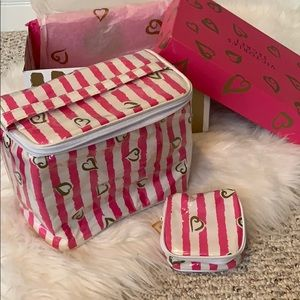 Victoria secret hearts accessories cases with box